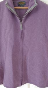 Woolrich Womens 100% Wool Zippered Vest